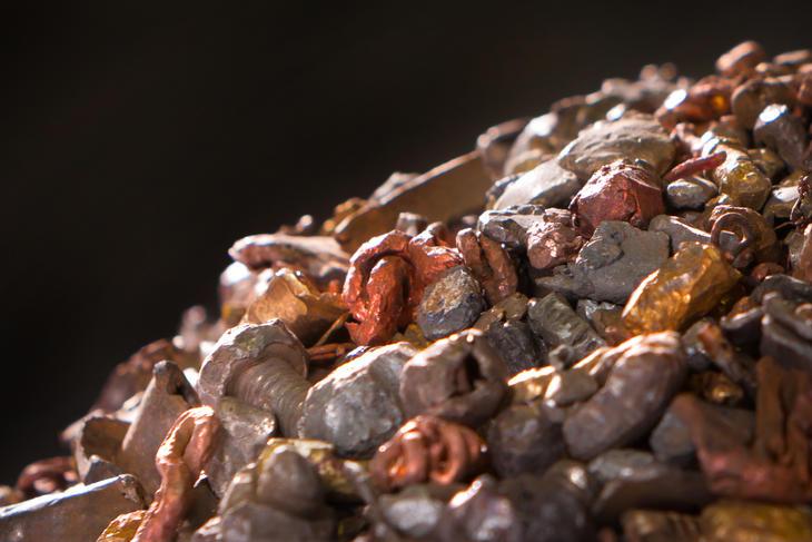Gjenvinning av jern, metall og EE-avfall